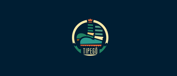 design shoe logo tipego