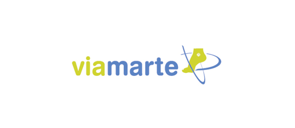 design shoe logo viamarte