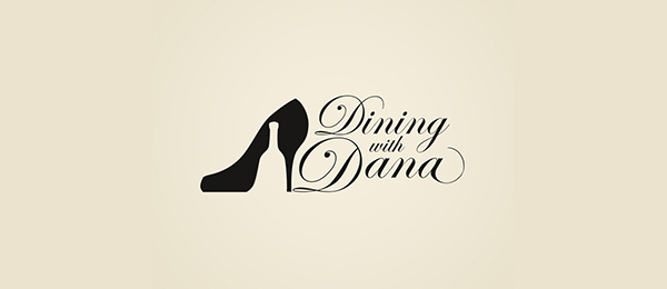design shoe logo wine travel blog