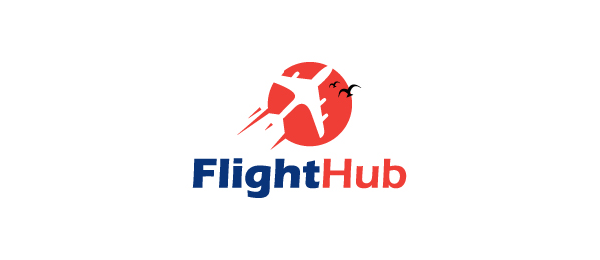 design sun logo flight hub 40