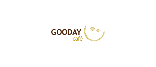 design sun logo gooday cafe 36