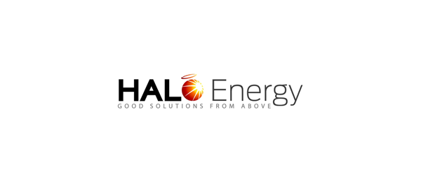 design sun logo halo energy 45