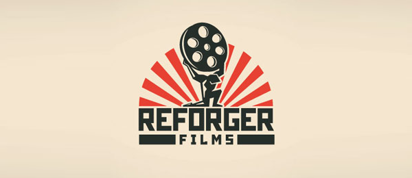 design sun logo reforger films 6