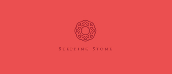 design sun logo stepping stone 34