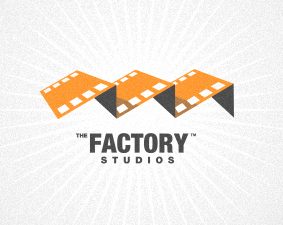 the factory studios examples of Film Logo Design