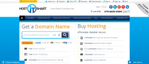 website_ Domain, Hosting, SSL, Dedicated Server, get it with Host IT Smart