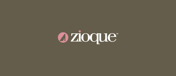 design women shoe logo zioque