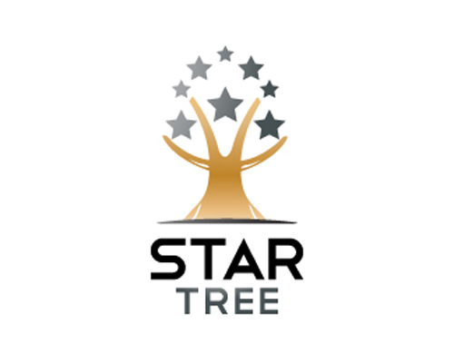 wood logo design examples StarTree
