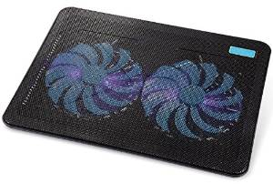 "AVANTEK's 17"" Laptop Cooling Pad Chill Mat with Dual"