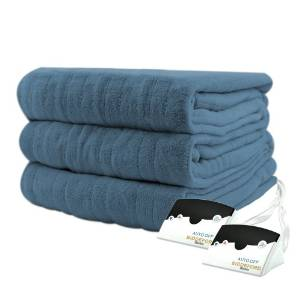 Biddeford's 2023-905291-500 Heated Knit Microplush Blanket