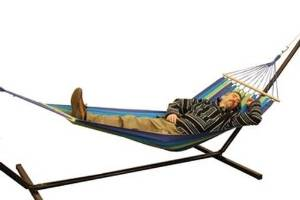 Campers' Compact Portable Cotton Hammock