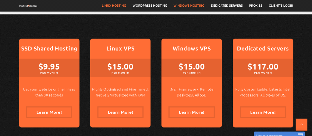 Cheap & Affordable SSD Shared, VPS Hosting, and dedicated servers On Windows & Linux