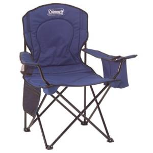 Coleman's Oversized Camping Quad Chair with Cooler