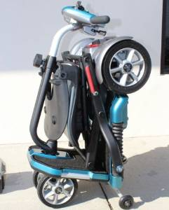 EV's Rider Transport Foldable Travel Mobility Scooter