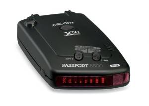 Escort's Passport 8500X50 Black Radar Detector