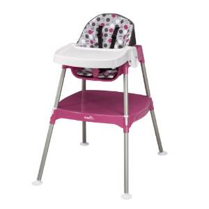 Evenflo's Convertible Infant High Chair
