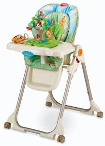 Fisher-Price's Rainforest High Chair, Healthy Care