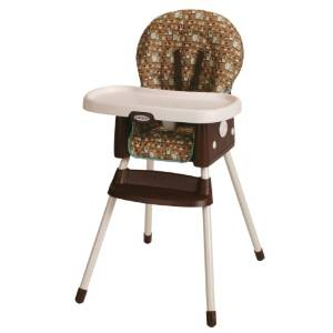 Graco's SimpleSwitch Booster High Chair