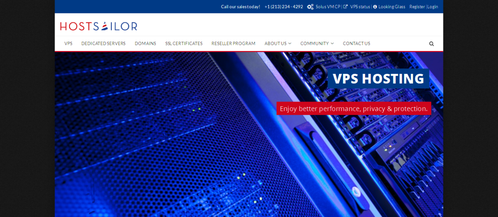 HostSailor VPS Hosting I Domain Names I SSL Certificates
