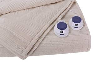 King Sized Natural Electric Heated Blanket