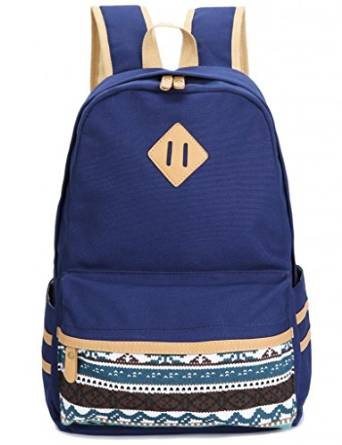Leaper Causal Style Lightweight Canvas Cute Backpacks School