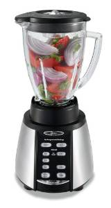 Oster BVCB07-Z Counterforms Glass Jar 7-Speed Blender