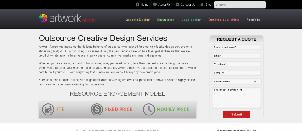 Outsource Creative Design Services I Artwork Abode India