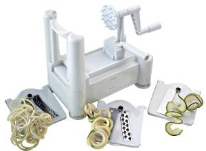Paderno's A4982799 World Cuisine Spiral Vegetable Slicer