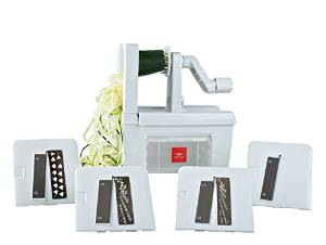 Paderno's World Cuisine Vegetable Spiralizer