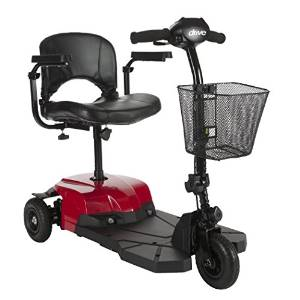 Red Bobcat X3 from Medical Wheel Compact Transportable Scooter