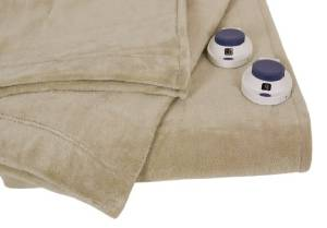 Serta's King- Size Electric Blanket, Pearl