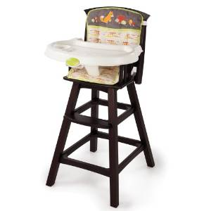 Summer's Infant Wood HighChair, Classic Comfort