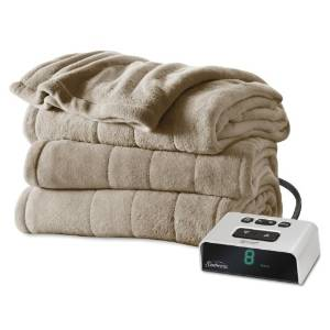 Sunbeam's Microplush Heated Blanket BSM9BQS-R772-16A00