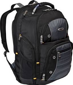 Targus' Drifter II (TSB239US) Backpack, Black Gray