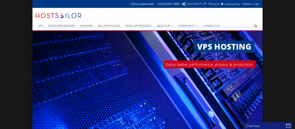 VPS Hosting I Domain Names I SSL Certificates I HostSailor