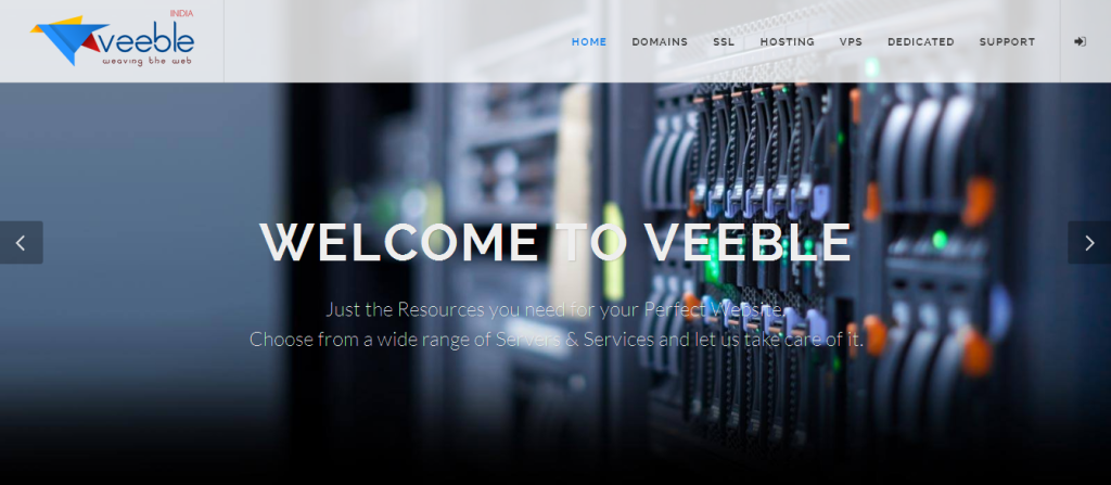 Web Hosting Service Provider I Linux and Windows Web Hosting Services - Veeble