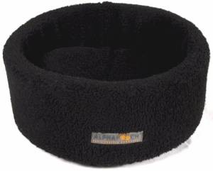 AlphaPooch's Round Fleece Siesta Cat Bed