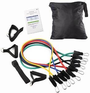 BalanceFrom's Heavy Resistance Band Kit