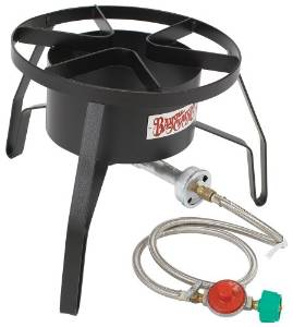 Bayou's Classic High-Pressure Outdoor Gas Cooker SP10