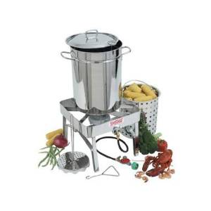 Bayou's Stainless-Steel 1195 Classic Fryer