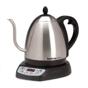 Bonavita's Variable Temperature Digital Electric Kettle