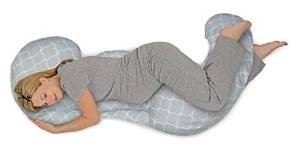 Boppy's Total-body Grey Custom Fit Pillow