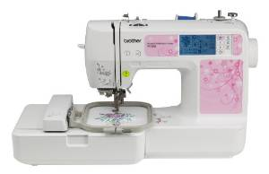 Brother's 4×4 PE500 Embroidery Machine