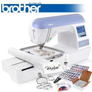 Brother's PE770 Embroidery Machine