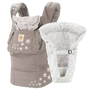 ERGO's Baby Carrier Package plus Grey Insert