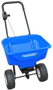 Earthway's PiPlus 2040 Snow and Ice Melt Spreader