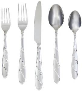 Farberware's 20-Piece Chipotle Sand Silverware