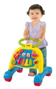 Fisher-Price's Musical Activity Brilliant Basics Walker