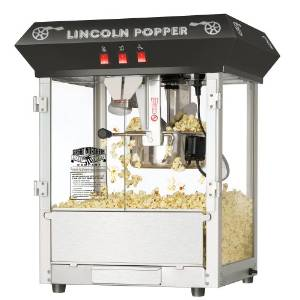 Giant Northern's Black Bar Style Popcorn Machine