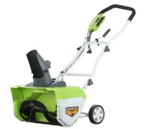 GreenWorks' 26032 Snow Thrower